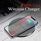US 15W/10W Fast Charger Qi Wireless Charging Pad Mat For iPhone 11 8 Samsung S20
