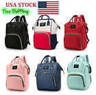 Mummy Diaper Nappy Bag Mom Maternity Baby Newborn Travel Backpack Handbag
