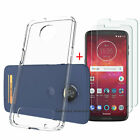 For Motorola Moto Z3 / Z3 Play Shockproof Phone Case Cover with Screen Protector