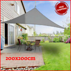 Sun Shade Sail Outdoor Top Canopy Patio Waterproof Triangle Covers Garden Awning