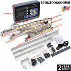 Digital Linear Scale 2Axis/3Axis Readout DRO Display Kit CNC Milling Lathe ,US
