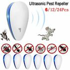 6X Ultrasonic Electric Pest Repeller Plug In Pest Rodent Mouse/Mice/Rat/Spider