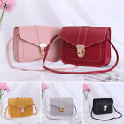 Mini Multifunctional Pu Leather Wallet Handbag Small Square Pack Shoulder Bag