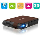 Pico Size WiFi 3D Projector Home Cinema Wireless Mirror Airplay Miracast for IOS