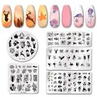 PICT YOU Nail Art Stamping Plates Colorful Flower Leaf Animal Series Image Plate