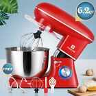 6.2QT 3In 1 Stand Mixer Kitchen Appliance Electric Pros 6 Speeds Tilt Head Bowl