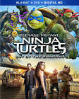 Teenage Mutant Ninja Turtles: Out of the Shadows (Blu-ray/DVD, 2016, 2-Disc.NEW