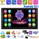 Double 2DIN Car Stereo MP5 Player Android 10.1 7in WiFi BT 4.0 GPS Navi FM Radio