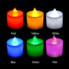 LED Flameless Candle Light Battery Party Wedding Flickering Tealight Decor Eager
