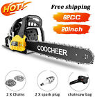 COOCHEER Gas Chainsaw 62CC 20