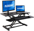 Height Adjustable Standing Desk Converter - Stand Up Rise Home Office Best Sales