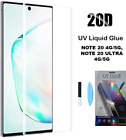 6D UV Glue Light Glass Screen Protector Samsung NOTE 20 5G , NOTE 20 ULTRA 5G