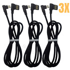 3Ft 6Ft 10Ft 90 Degree Right Angle Micro USB Fast Charging Cable Android Charger