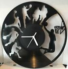 Hobbies and Sports Themed Recycled Vinyl Record Wall Clocks - Free delivery