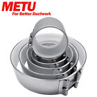 Metu Ducting Fast Clamp Padded Pro Air Tight Fan Filter Heavy Duty Connector