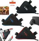Bicycle Triangle Storage Bag Montain Bike Front Tube Frame Bags Waterproof Pouch