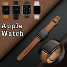 For Apple Watch Band Genuine Leather Strap Iwatch Series 6 5 4 3 2 1 38 40 42 44