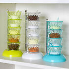 Rotatable Multi-layer Vertical Seasoning Box Jars Home Kitchen Accessory Tool Ea