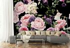3D Beautiful Flowers ZHUA1372 Wallpaper Wall Murals Removable Self-adhesive Amy