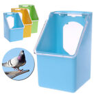 Plastic Feeding Box Pigeons Water Hanging Drinking Dispenser Feeder Props Supply