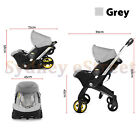 Infant Car Seat Stroller Combos 4 in 1 for newborn, light weight for travel