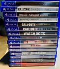 Playstation 4 Video games - all working and cleaned Excellent Condition PS4