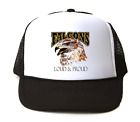 Trucker Hat Cap Foam Mesh School Team Mascot Falcons Loud Proud