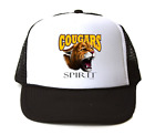 Trucker Hat Cap Foam Mesh School Team Mascot Cougars Spirit