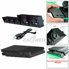 PS4/Pro Cooling Fan USB External Cooler Fan Turbo Gaming Console Control Cooling