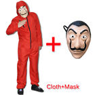 For Salvador Dali La Casa De Papel Money Heist Cosplay Unisex Halloween Costume