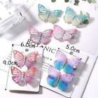 2pcs/pack Colorful Butterfly Hair Clips Sweet Hair Hairpins Ornament Hot T4j8