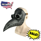 Halloween Medieval Steampunk Plague Doctor Bird Mask Latex Punk Cosplay Masks