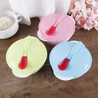 Baby feeding suction bowl set slip-resistant tableware with sensing spoon ss