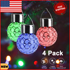 Vintage Christmas Outdoor Yard Decorations With LED Light Solar Powered For Tree