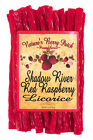 Shadow River Gourmet Red Raspberry Licorice Candy - Old Fashioned Red Twists