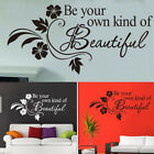 Wall Art Stickers For Bedroom Living Room Removable Home Decor, Diy Decal Quotes