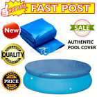 8/12Ft Solar Pool Round Inflatable Fast Set Swimming Paddling Pool PE Cover US
