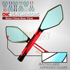 CNC Pentagon Rearview Side Mirror For DUCATI MONSTER 1200/S/R M1100/S/EVO 09-17