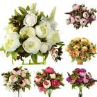 Artificial Flowers Peony Silk Peony Wedding Party Bouquet Home Decors Outdoor