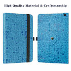 "Rotary Stand Cute Pattern Case For 10.1"" Vankyo MatrixPad S20 Tablet/YUNTAB D107"