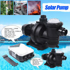 48V 110V DC Water Pump Solar Water Pump for Fountain Pool +MPPT controller US