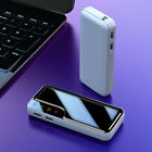Portable 900000mAh Power Bank External 2 USB Battery Charger For Cell Phone LCD