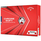 2020 Callaway Chrome Soft Triple Track Truvis Golf Balls Select Quantity Colour