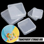Transparent Storage Box Packing Boxes Jewelry Beads Container Small Items Case