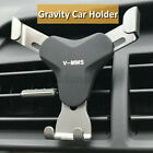 Universal Gravity Aluminum Car Air Vent Mobile Phone GPS Holder Mount Stand  !