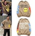 "Kanye West sweatshirt ""Lucky me I see Ghosts"" Logo Print Hoodie Men Women Autumn"