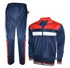 Prime Sport Mens Tracksuit Athletic Full Zip Casual Sports Jogging Gym Sweatsuit
