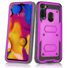 REFINED ARMOR RUGGED SHOCKPROOF Tough Phone Case Cover BUILT-IN SCREEN PROTECTOR