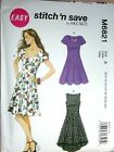Choose a McCall Dress PATTERN sz 6-22 Jacket shift jumpsuit fancy drape-frt