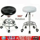 Adjustable Hydraulic Salon Spa Swivel Bar Stool Chair Facial Massage Rolling US